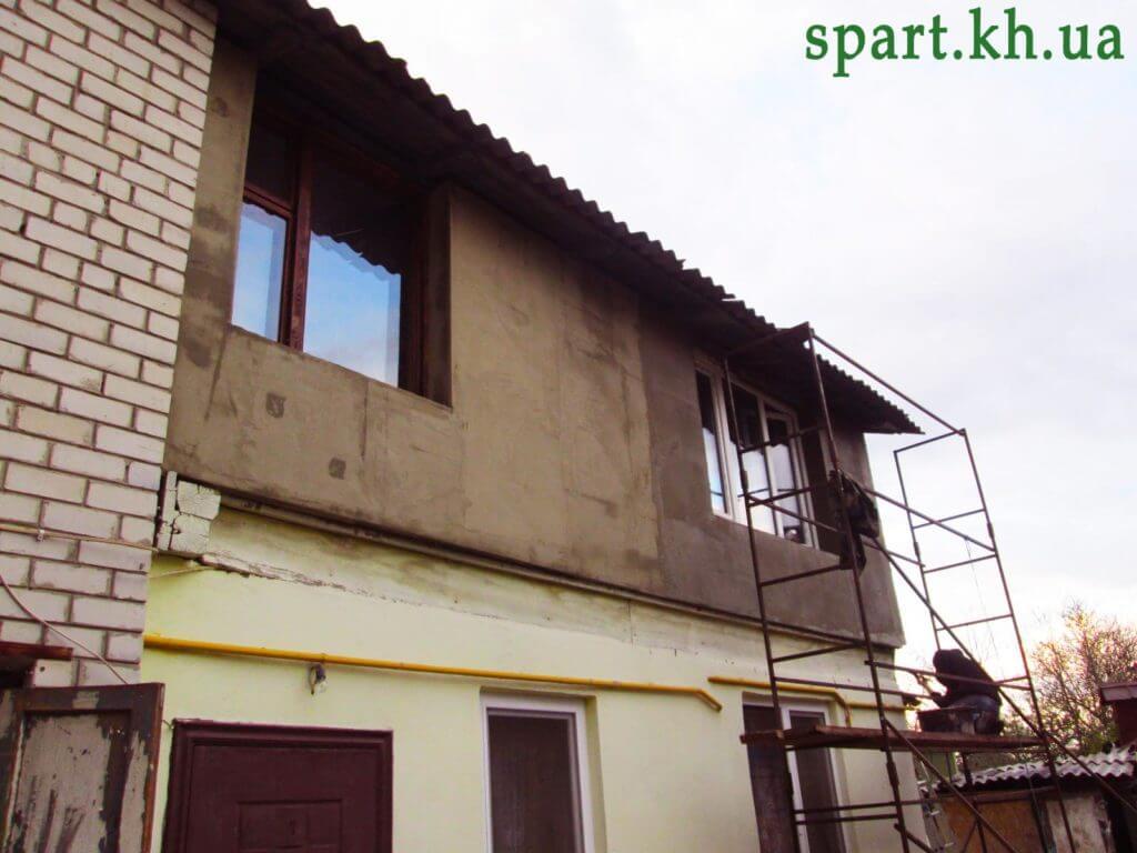 утепление дома в Харькове