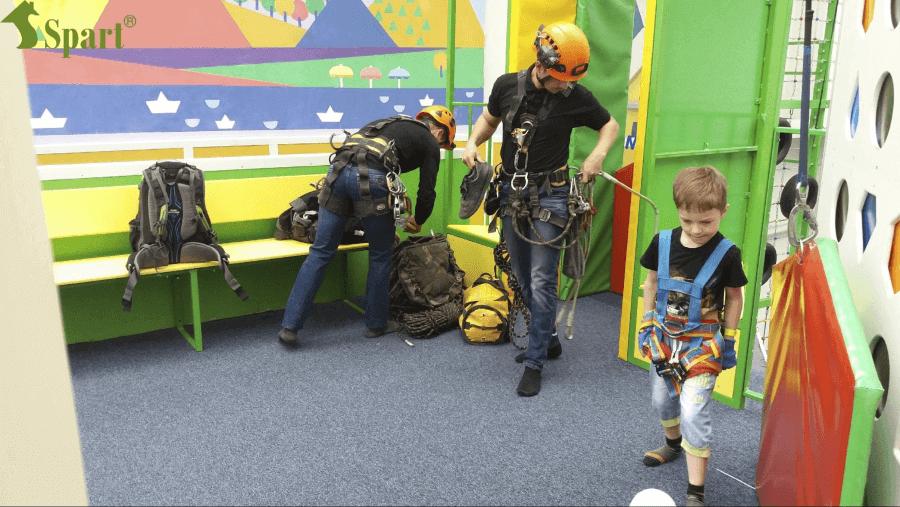 веревочный парк для детей и взрослых