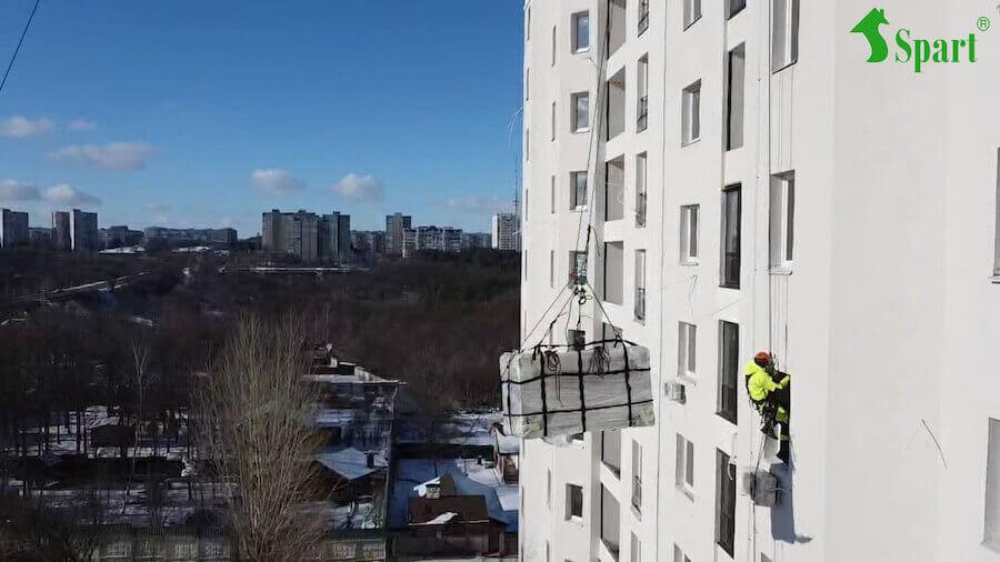 оборудование для установки веревочного парка в Харькове