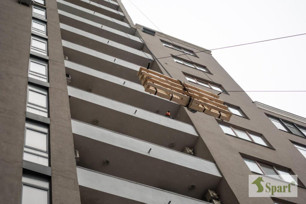 подъем не габаритных грузов в Харькове